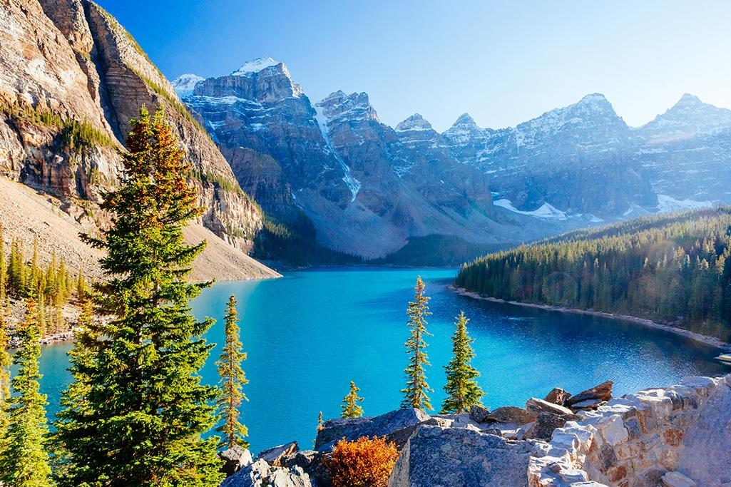 Rocky Mountains reisen