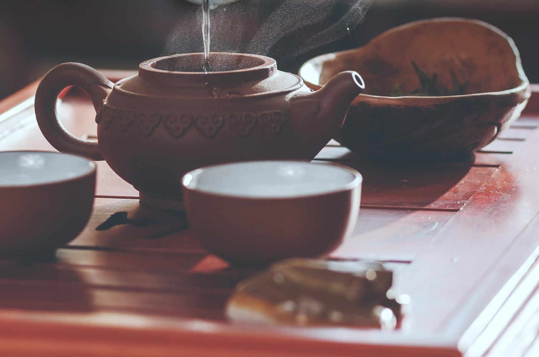 Tee, und ander Köstlichkeiten in Peking
