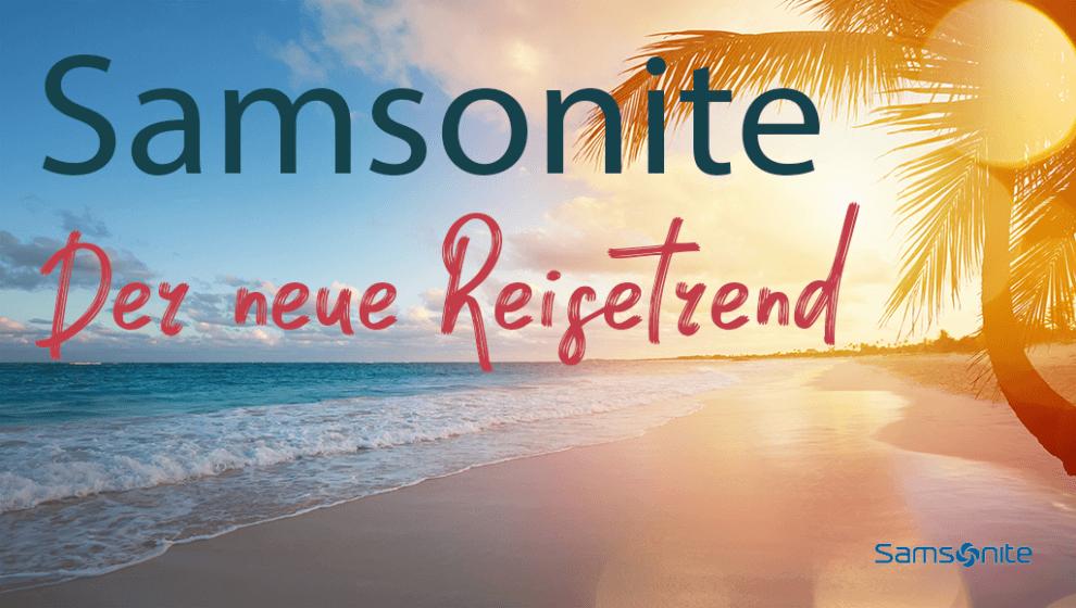 Samsonite Koffer Reise Trend