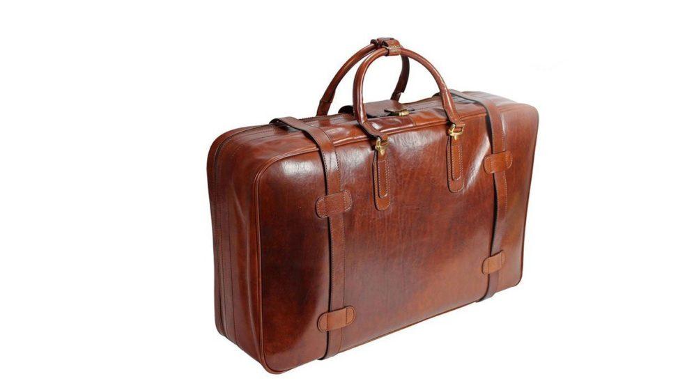 Koffer aus Leder