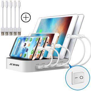 Tablet Ladestation für mehrere Geräte mit Schalter Multi Ladestation