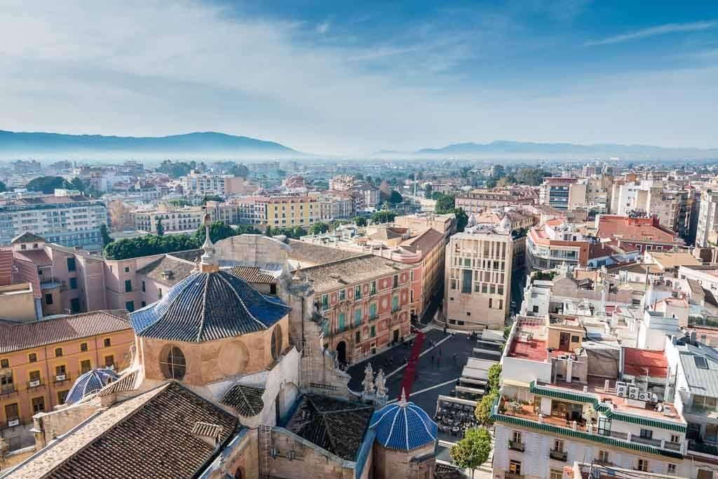 Murcia Spanien