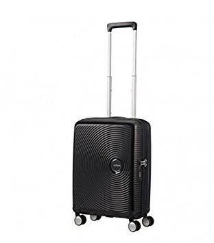 American Tourister - Soundbox Spinner 55/20 Erweiterbar 35.5/41L - 2.6 KG Bass Black