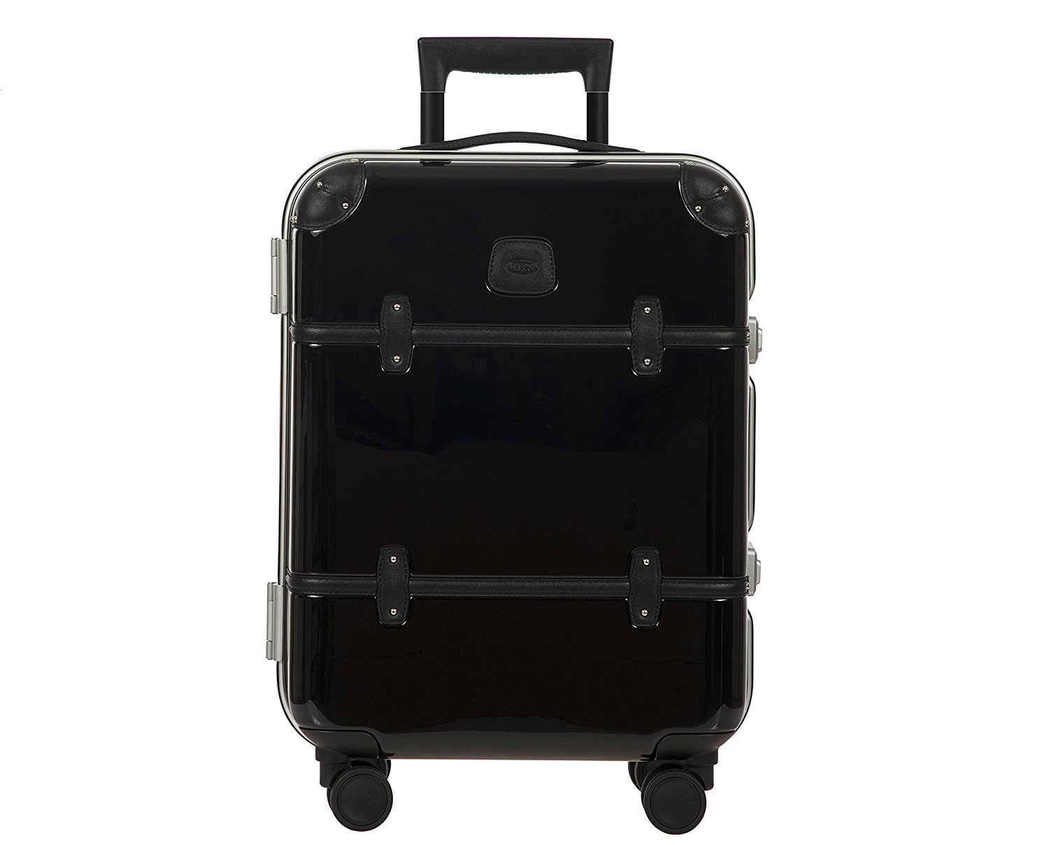 Bellagio METALLO 2.0 International 53,3 cm Carry On Spinner Trunk, Schwarz glänzend (schwarz) - BBG28501.901