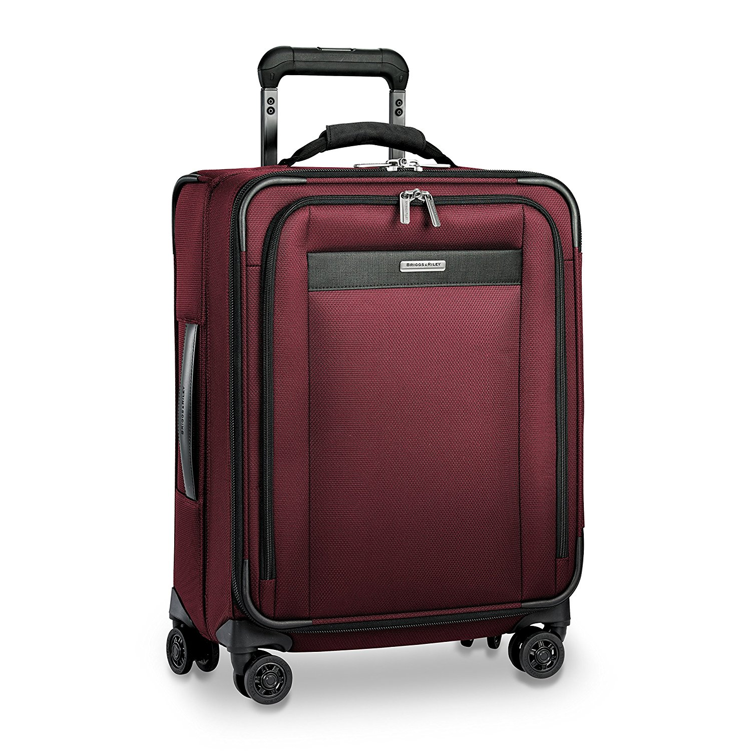 Briggs & Riley Transcend Wide Carry-On Expandable Spinner, 55cm, 60.6 litres, Slate Koffer, 54 cm, liters, Grau (Slate)