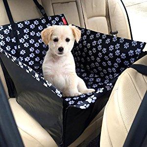 MATCC Hunde Autositz Einzelnsitz Für Rückbank Wasserdicht Hund Autositzbezug Autositz Für Haustier Abriebfest Hund Sitzbezug Autoschutzdecke Hunde Auto Hundedecke Hunde Autoschondecke (53*60*35cm)
