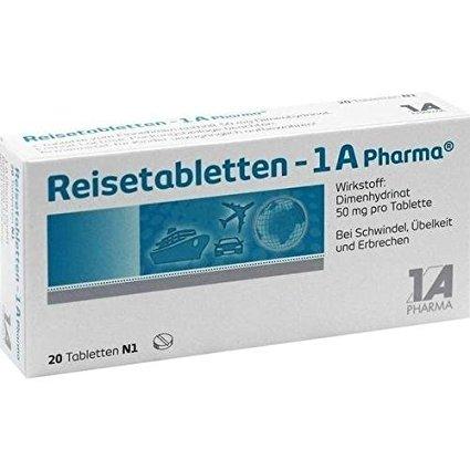 Reisetabletten 1a Pharma 20 stk