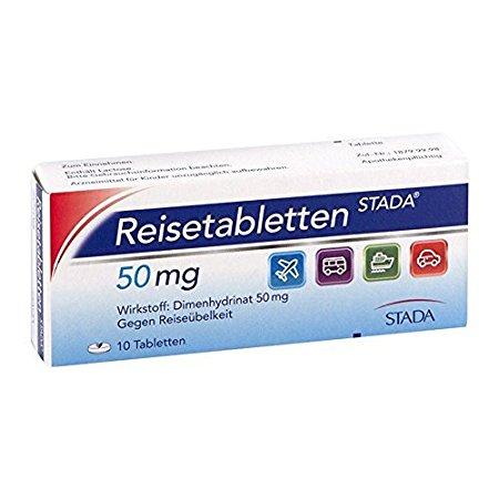 Reisetabletten STADA 50 mg, 10 St by STADA GMBH