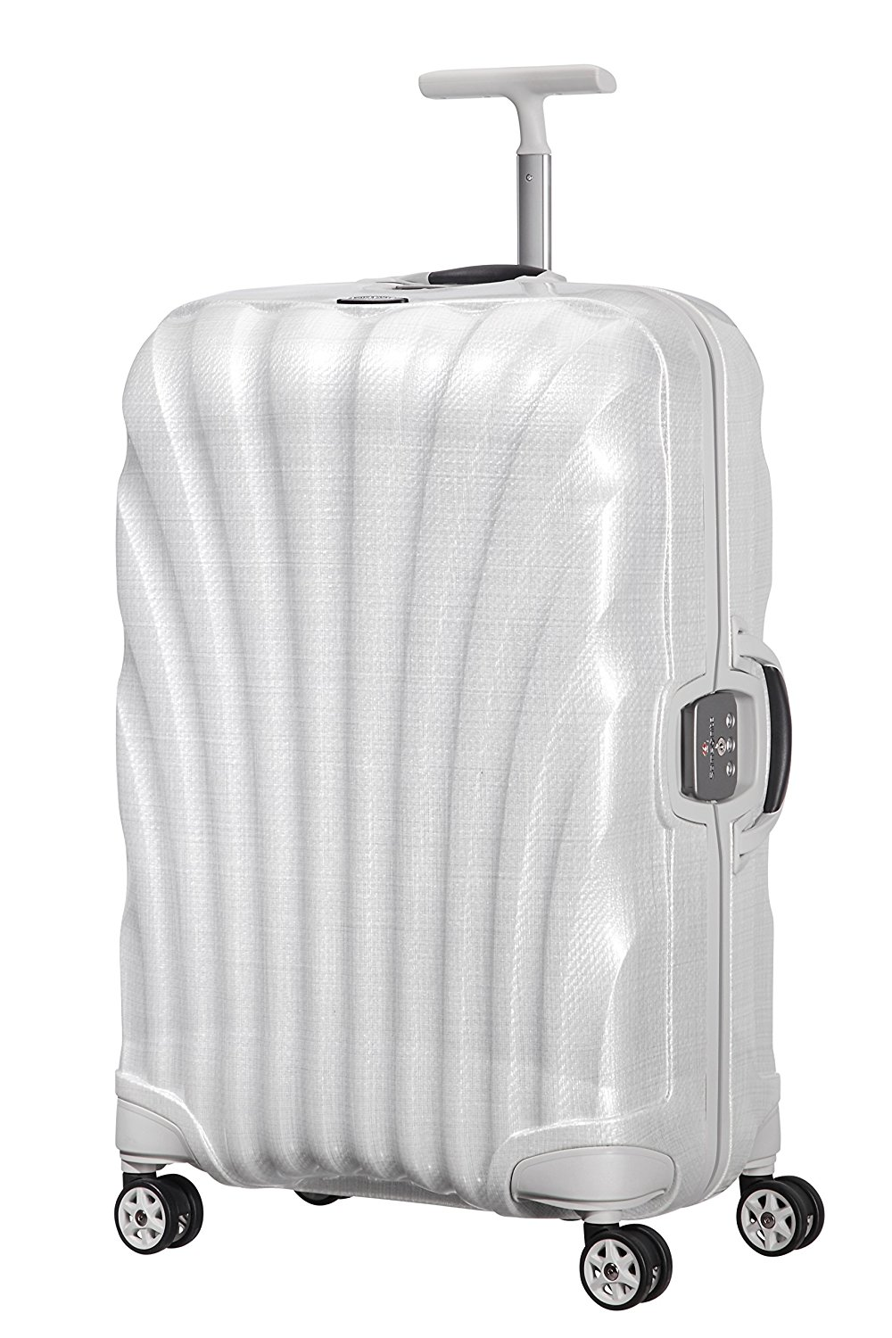 SAMSONITE Lite-Locked Spinner 69/25 Koffer, 69 cm, 68 L, Off White