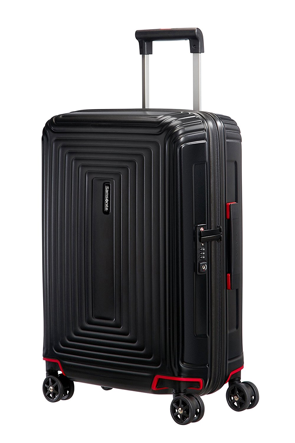Samsonite Neopulse Spinner, S (55cm-38L), MATTE BLACK