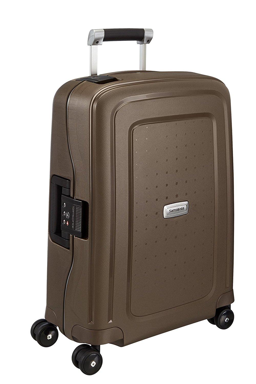 Samsonite S'Cure DLX Koffer, 34 Liter, Metallic Bronze