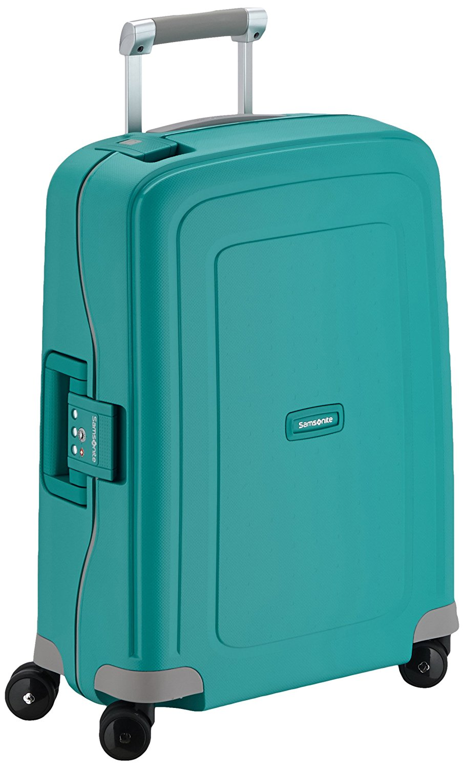 Samsonite S'Cure Spinner 55/20 Koffer, 55cm, 34 L, Aqua Blue