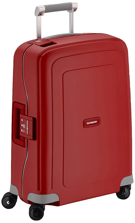 Samsonite S'Cure Spinner 55/20 Koffer, 55cm, 34 L, Crimson Red