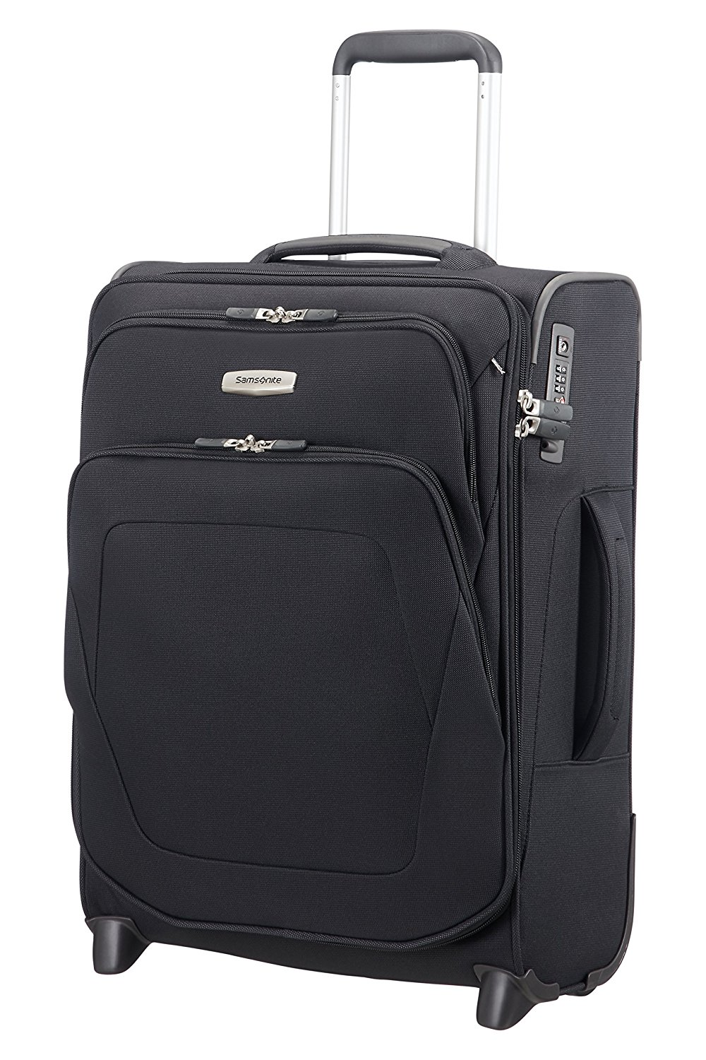 SAMSONITE Spark SNG - Upright 55/20 Expendable Length 40cm Bagage cabine, 55 cm, 48,5 liters, Schwarz