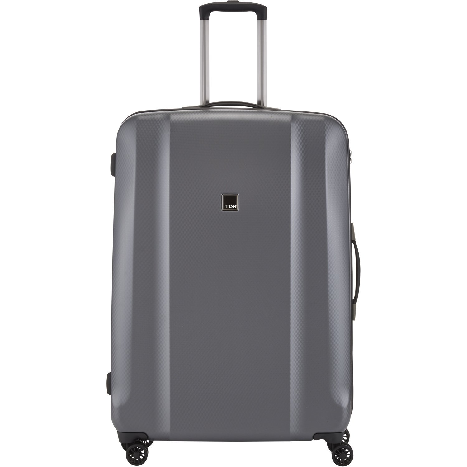 "TITAN Valise trolley ""Xenon Deluxe"" avec 4 roues graphite Koffer, 81 cm, 140 liters, Grau (Graphite)"