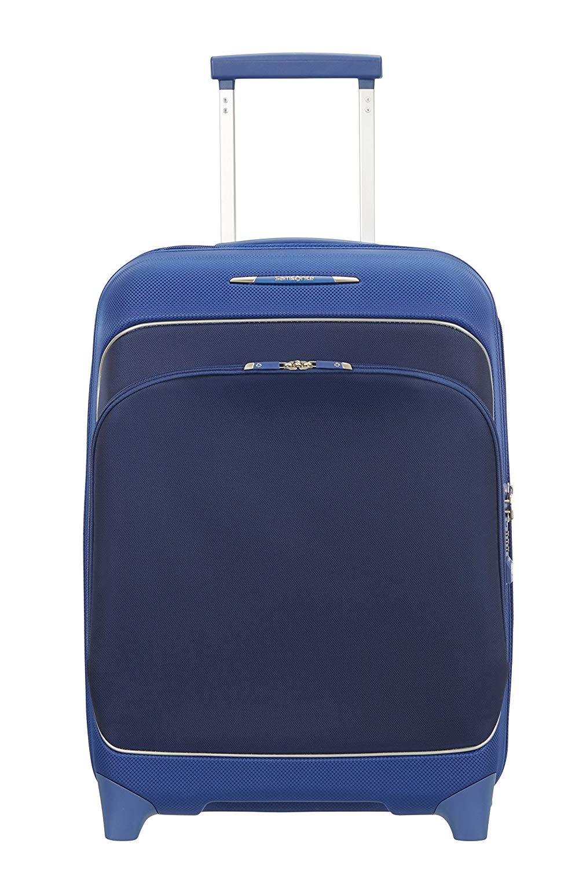 SAMSONITE Fuze Upright Expandable, 42.5-2.4 KG Koffer, 55 cm, 35 L, Cobalt Blue