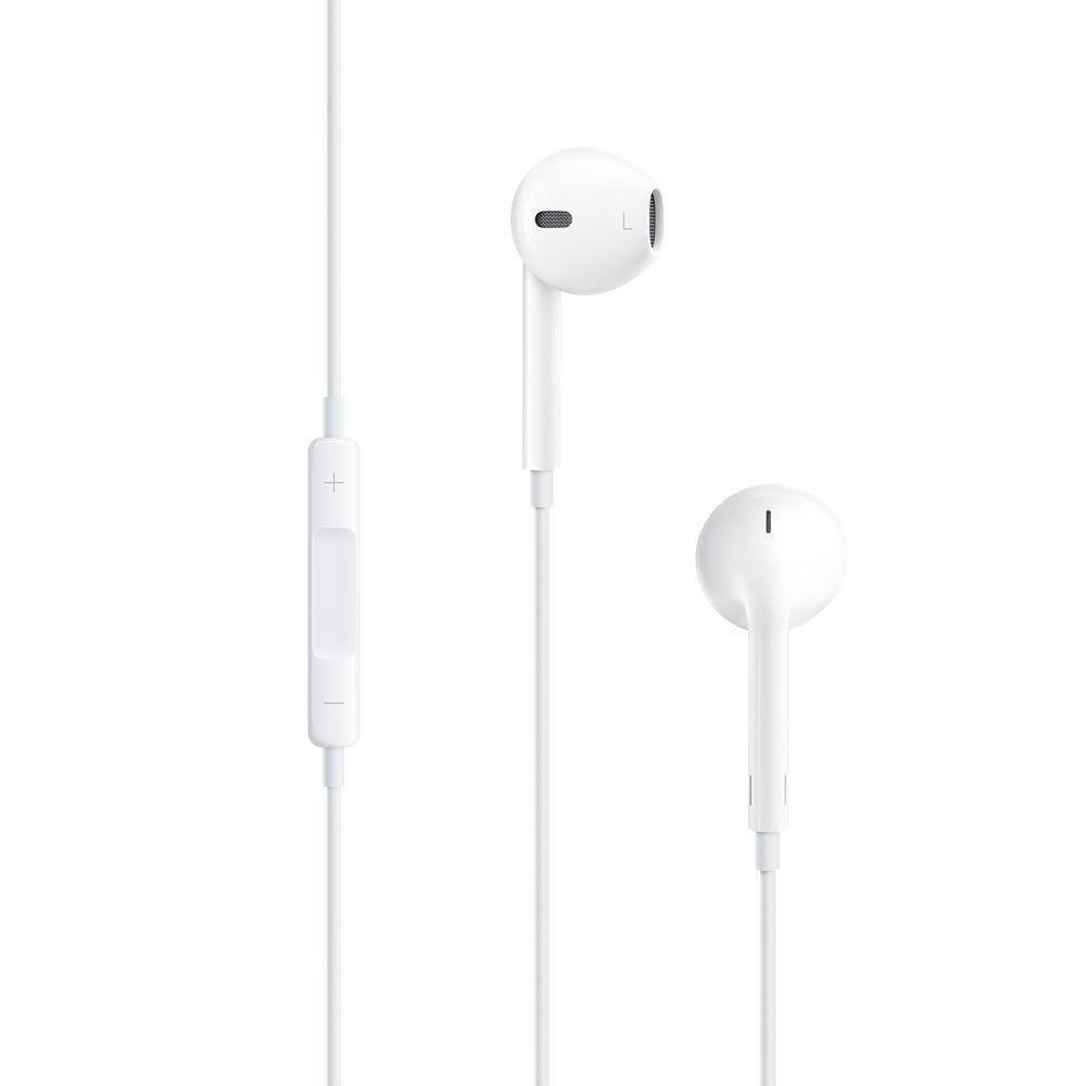 Apple MD827ZM/A Orignal In-Ear Kopfhörer mit Fernbedienung und Mikrofon weiß