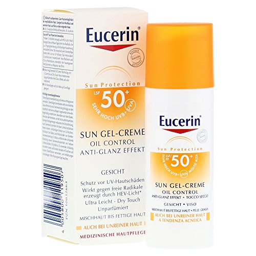 Eucerin Sun Gel-Creme LSF 50+ Gesicht Creme, 50 ml