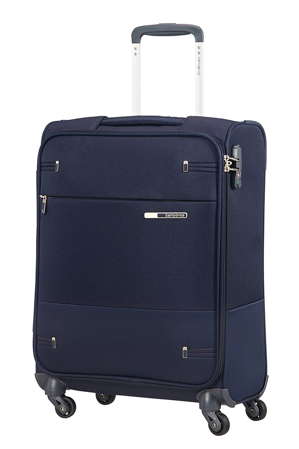 SAMSONITE Base Boost Spinner 55/20 Koffer, S (55cm-37L), 39 L, Blau (Navy Blue)