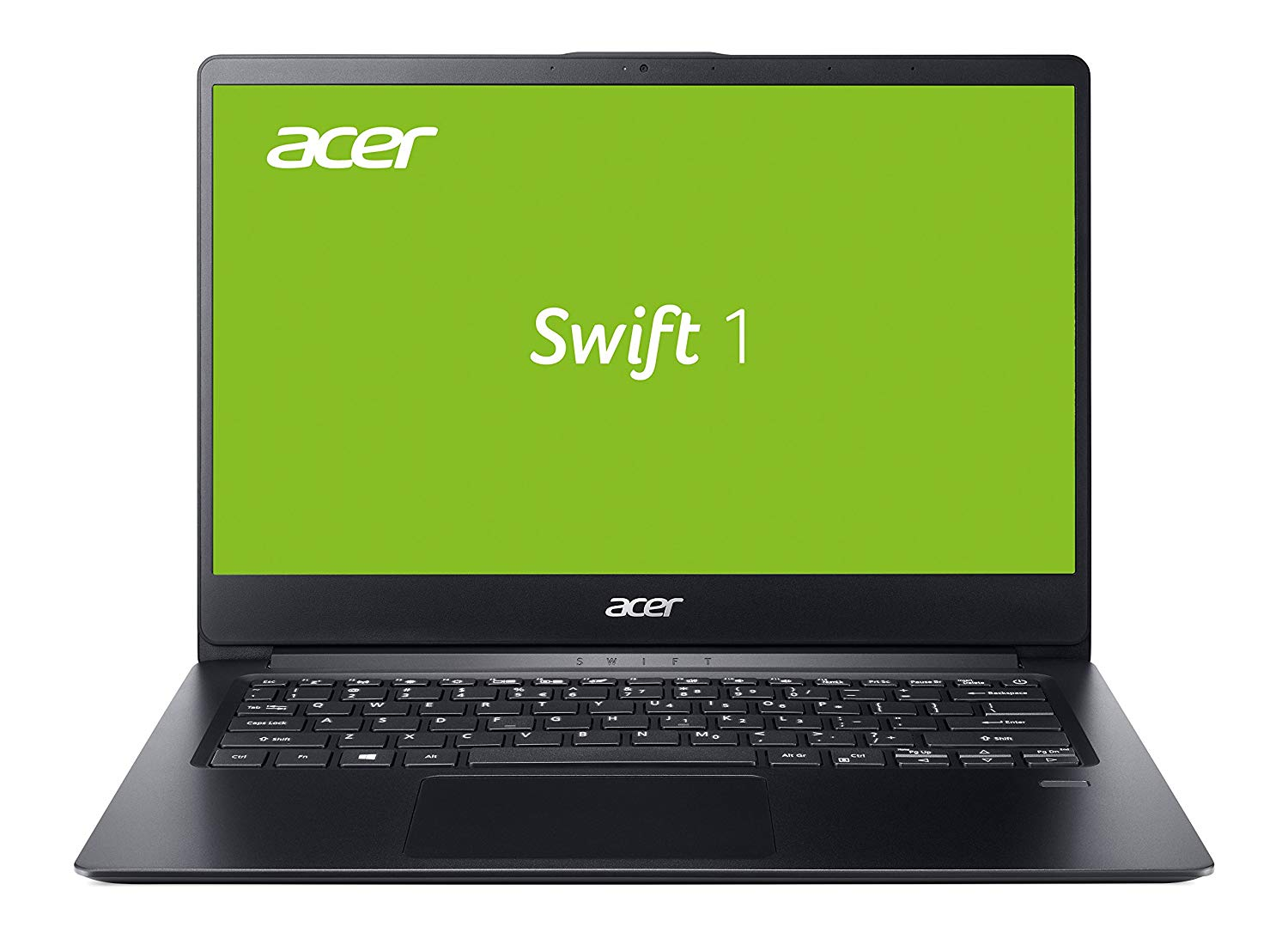 Acer Swift 1 (SF114-32-P0L3) 35,6 cm (14 Zoll Full-HD IPS matt) Ultrabook (Intel Pentium N5000, 8 GB RAM, 256 GB SSD, Intel UHD, Win 10) schwarz
