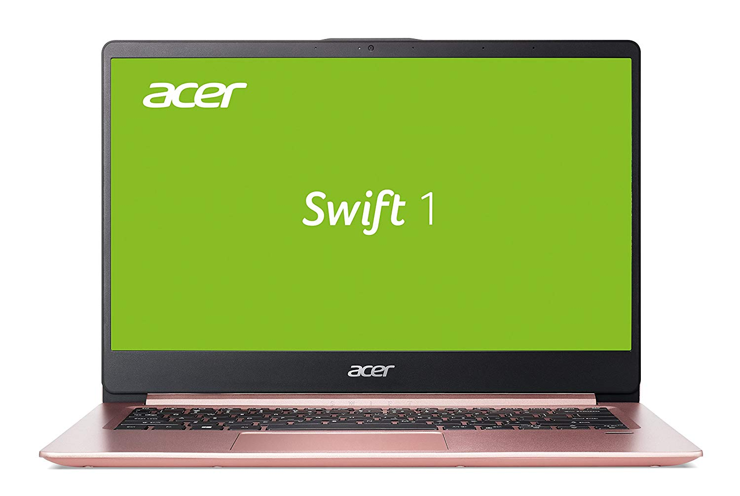 Acer Swift 1 (SF114-32-P6SW) 35,6 cm (14 Zoll Full-HD IPS matt) Ultrabook (Intel Pentium N5000, 8 GB RAM, 256 GB SSD, Intel UHD, Win 10) roségold