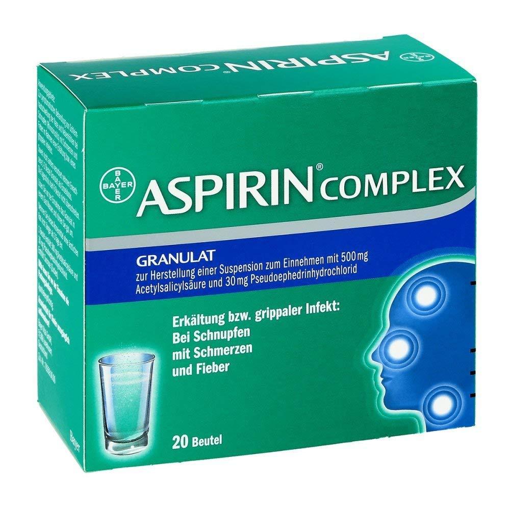 Aspirin Complex, 20 St. Beutel