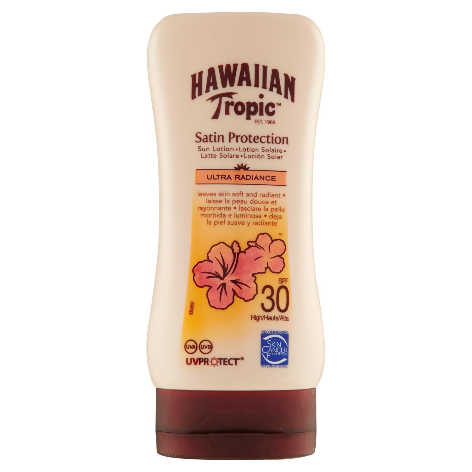 Hawaiian Tropic Satin Protection Sun Lotion Sonnencreme LSF 30, 180 ml, 1 St