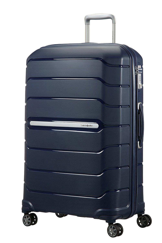 SAMSONITE Flux - Spinner 75/28 Expandable Bagage cabine, 75 cm, 121 liters, Navy Blau