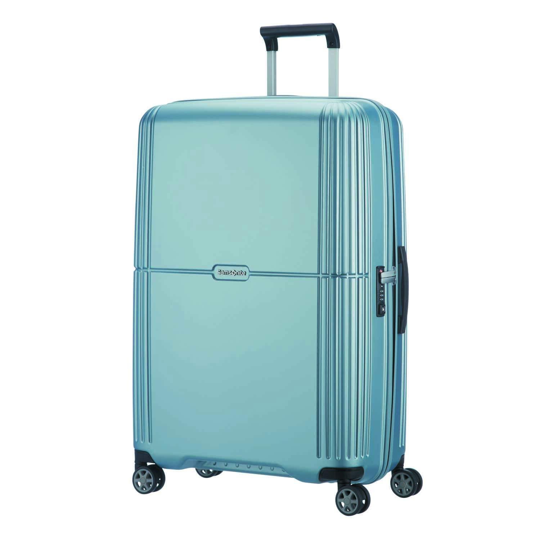 SAMSONITE Orfeo - Spinner 75/28 Koffer, 75 cm, 96 L, Sky Silver