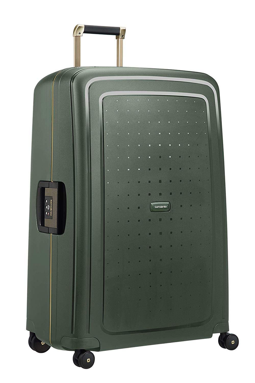 SAMSONITE S'Cure DLX Spinner 81 Koffer 81 cm, 138 L, Dark Green Gold Deluscious