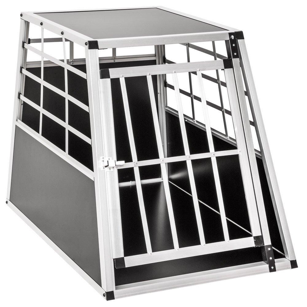 TecTake Alu Hundetransportbox -diverse Größen-
