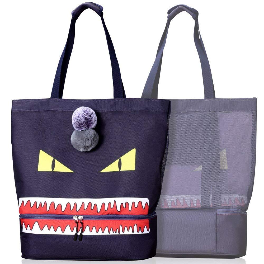 c67379779a1d2 CoolMoMo Strandtasche XXL groß Strandtasche Damen Kühltasche