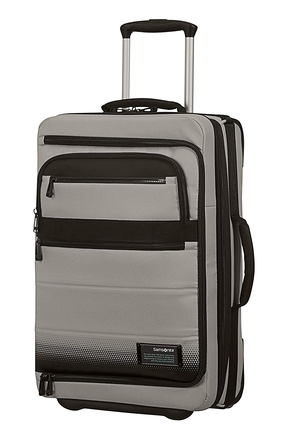 SAMSONITE Cityvibe 2.0 - Mobile Office Koffer, 55 cm, 41.5 Liter, Ash Grey