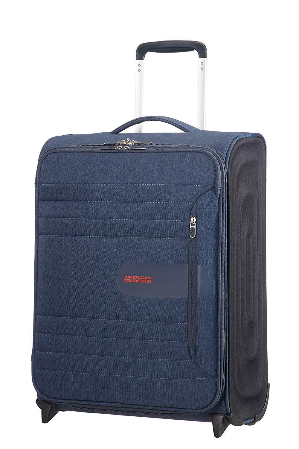 American Tourister Sonicsurfer - Upright 55/20 Koffer, 55 cm, 43 L, Midnight Navy