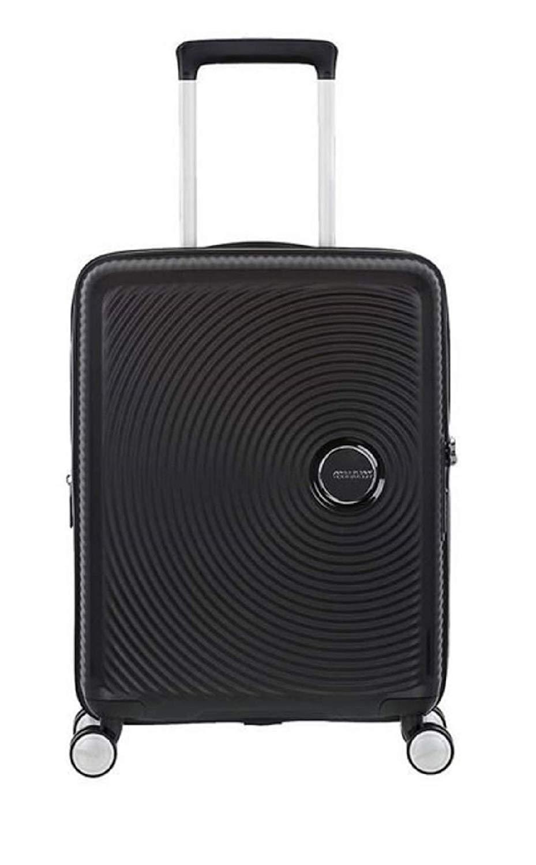 American Tourister - Soundbox Spinner Erweiterbar, 55cm, 35,5/41 L - 2,6 KG, Schwarz (Bass Black)