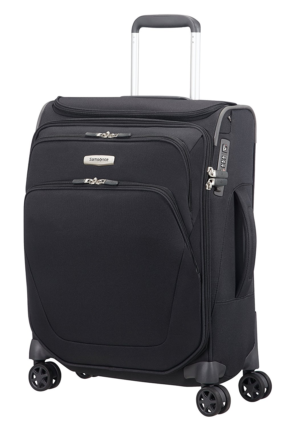 SAMSONITE Spark SNG - Spinner 55/20 with SmartTop Bagage cabine, 55 cm, 43 liters, Schwarz