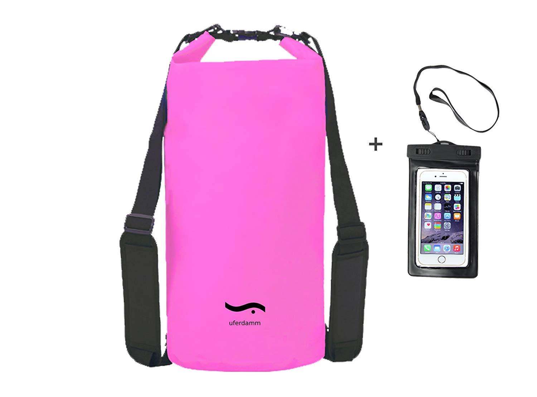 Uferdamm / wasserfester Drybag 20L / Smartphone Hülle/Survival Set/Seesack / Packsack/Strandtasche