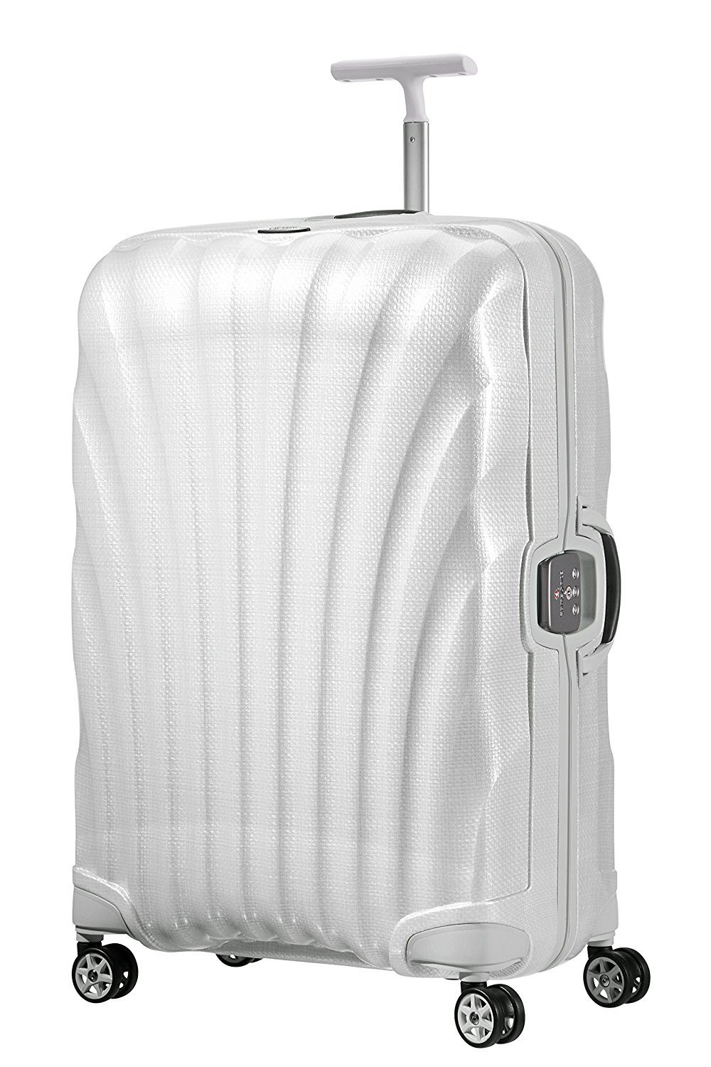 SAMSONITE Lite-Locked Spinner 75/28 Koffer, 75 cm, 93 L, Off White