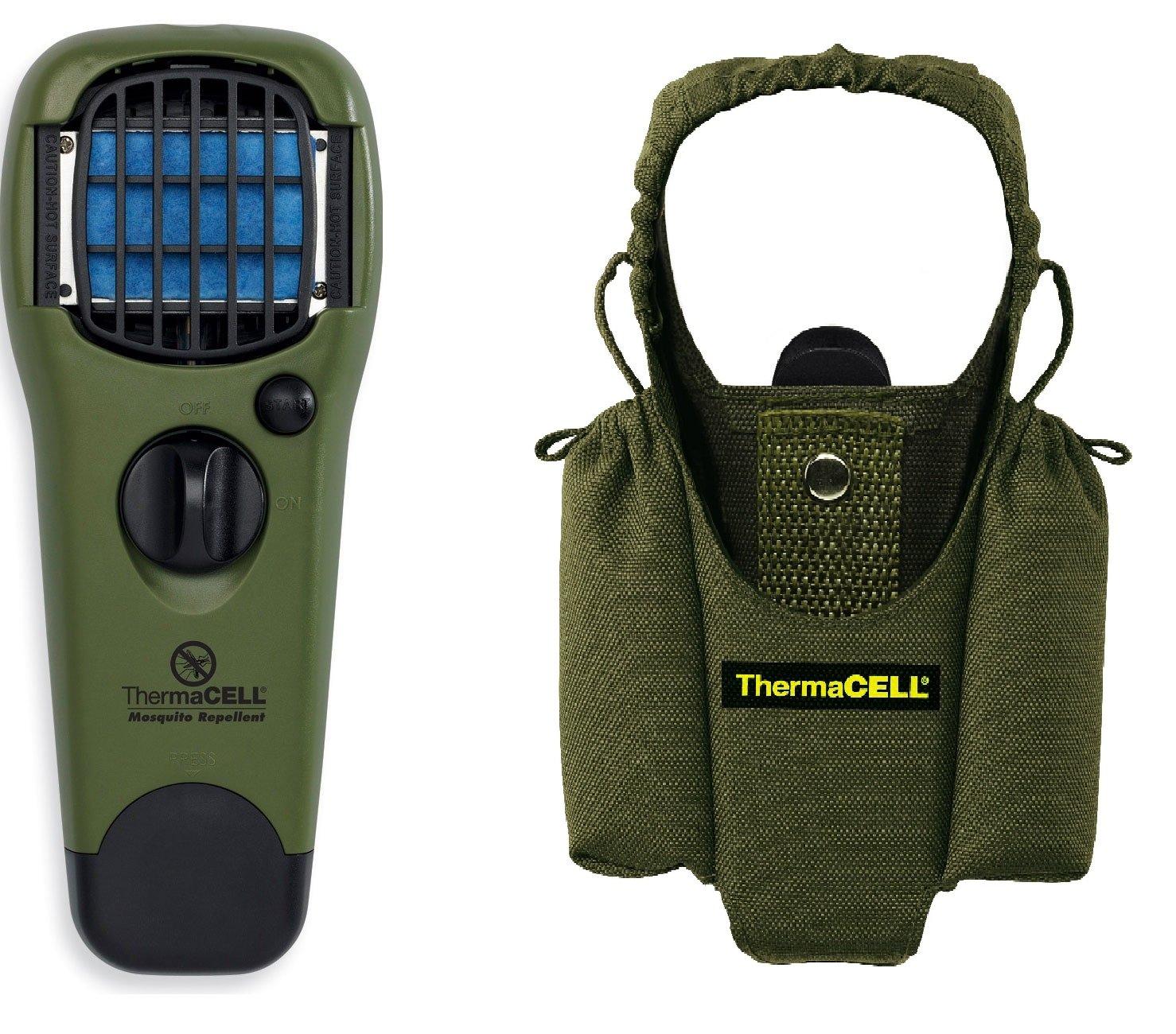 Thermacell Handgerät grün + Tragetasche grün