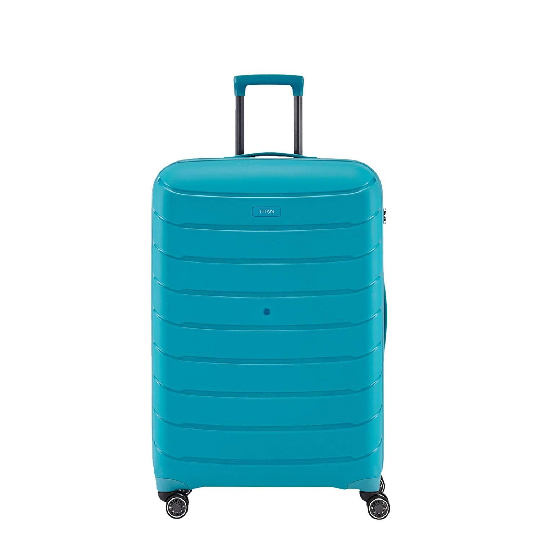 TITAN Limit Trolley S, 823406-21 Koffer, 55 cm, 39 L, Aqua Blue