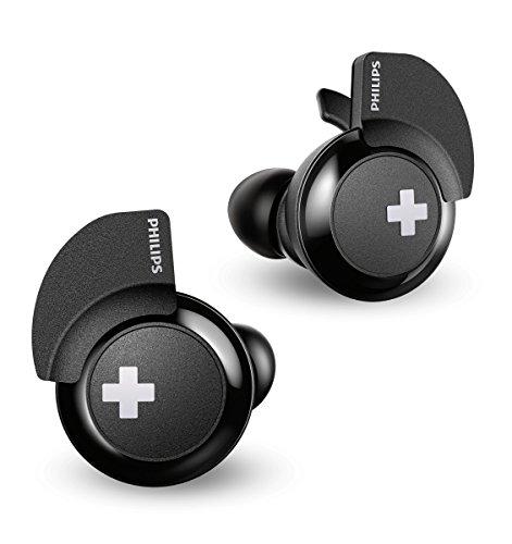 Philips Bass+ SHB4385BK/00 In-Ear-Kopfhörer (Bluetooth, mit Mikrofon, True Wireless, 6 Std. Spielzeit) schwarz